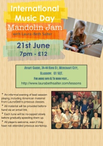 Mandolin Jam June 2016