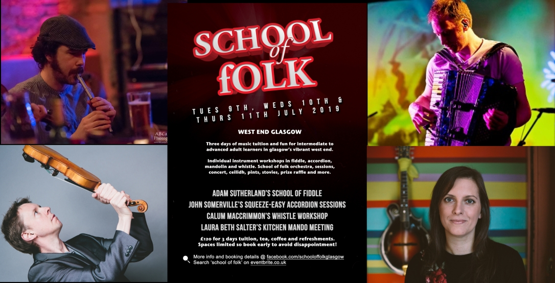 School of Folk Flyer plus tutors